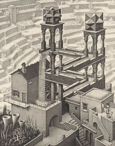 MC-Escher-Waterfall-19611
